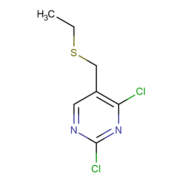 2,4-Dichloro-5-[(ethylthio)methyl]pyrimidine