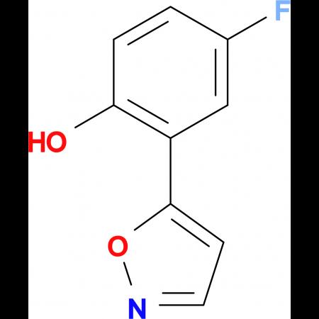 5-(5-Fluoro-2-hydroxyphenyl)isoxazole