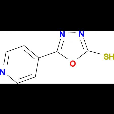 5-(4-Pyridyl)-1,3,4-oxadiazole-2-thiol