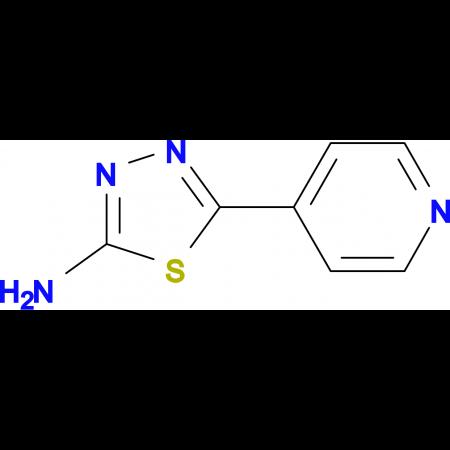 5-(4-Pyridyl)-1,3,4-thiadiazol-2-yl-amine
