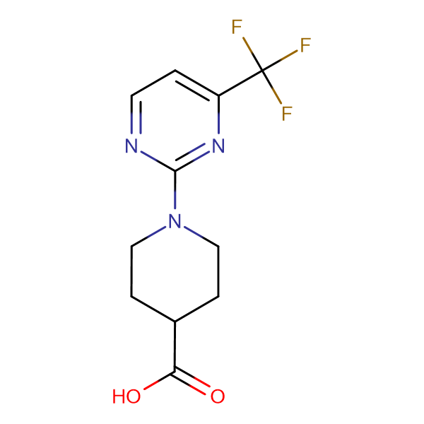 1-[4-(Trifluoromethyl)-2-pyrimidinyl]-4-piperidinecarboxylic acid