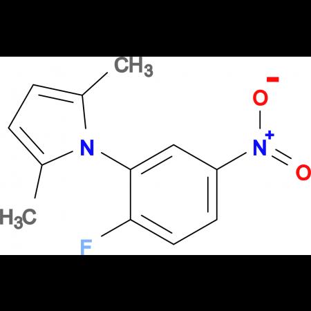 1-(2-Fluoro-5-nitrophenyl)-2,5-dimethyl-1H-pyrrole
