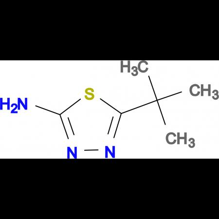 2-Amino-5-tert-butyl-1,3,4-thiadiazole