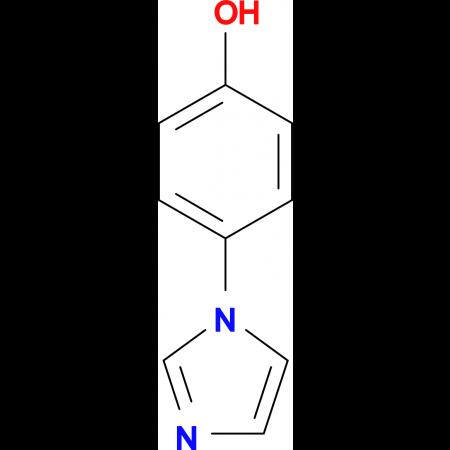 4-(Imidazol-1-yl)phenol