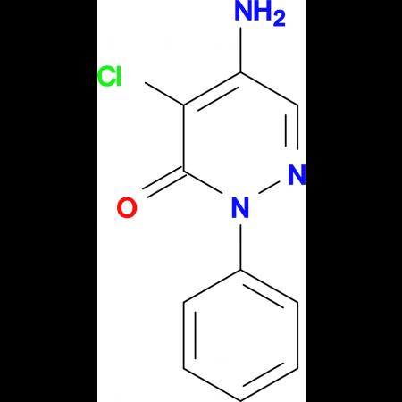 1-Phenyl-4-amino-5-chloro-6-pyridazone