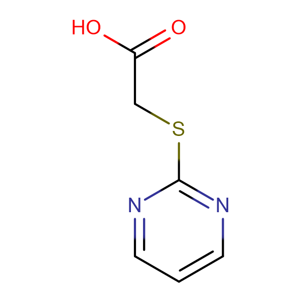 (2-Pyrimidylthio)acetic acid