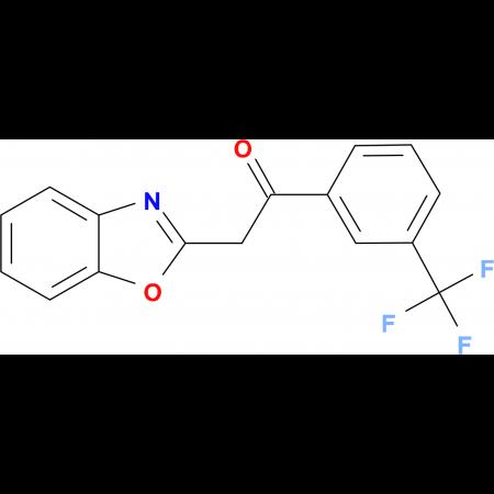 2-(1,3-Benzoxazol-2-yl)-1-[3-(trifluoromethyl)phenyl]ethanone