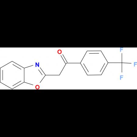 2-(1,3-Benzoxazol-2-yl)-1-[4-(trifluoromethyl)phenyl]ethanone