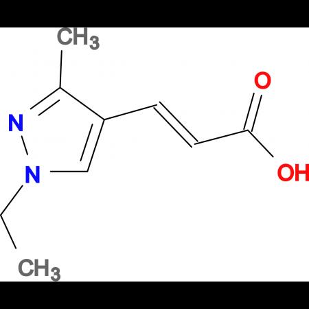 (E)-3-(1-Ethyl-3-methyl-1H-pyrazol-4-yl)-acrylic acid
