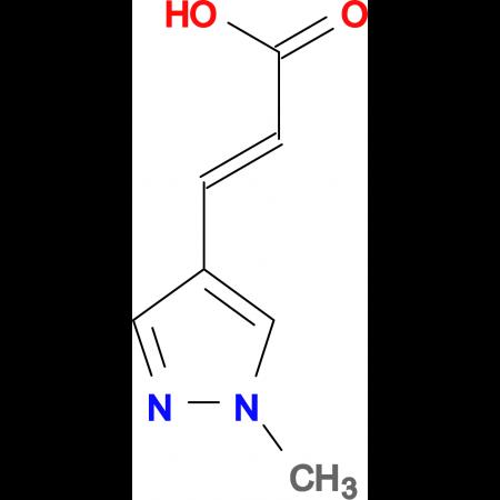 (E)-3-(1-Methyl-1H-pyrazol-4-yl)acrylic acid