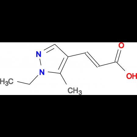 (E)-3-(1-Ethyl-5-methyl-1H-pyrazol-4-yl)-acrylic acid