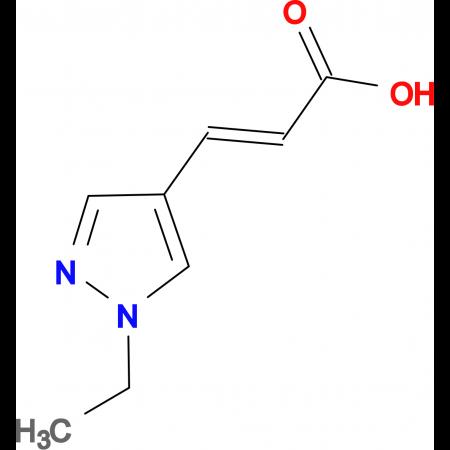 (E)-3-(1-Ethyl-1H-pyrazol-4-yl)-acrylic acid