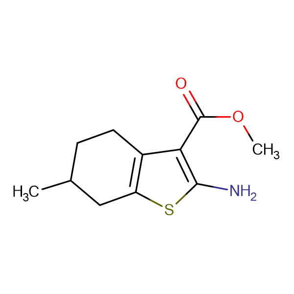 2-Amino-6-methyl-4,5,6,7-tetrahydrobenzo[b]-thiophene-3-carboxylic acid methyl ester