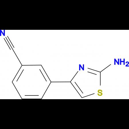 3-(2-Amino-thiazol-4-yl)-benzonitrile