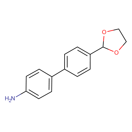 4'-[1,3]Dioxolan-2-yl-biphenyl-4-ylamine