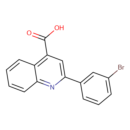 2-(3-Bromophenyl)quinoline-4-carboxylic acid
