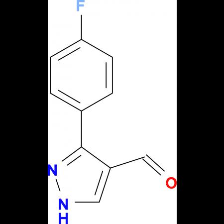 3-(4-Fluoro-phenyl)-1H-pyrazole-4-carbaldehyde
