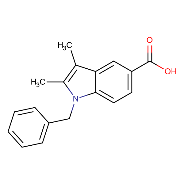 1-Benzyl-2,3-dimethyl-1H-indole-5-carboxylic acid
