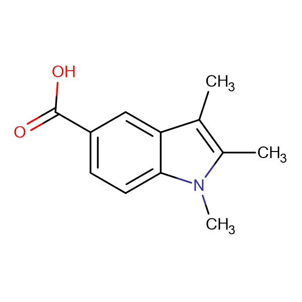 1,2,3-Trimethyl-1H-indole-5-carboxylic acid