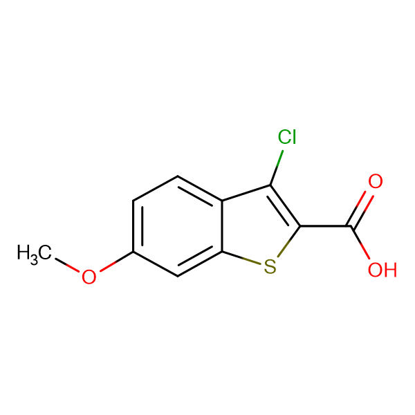 3-Chloro-6-methoxy-benzo[b]thiophene-2-carboxylic acid