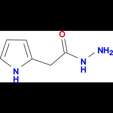 (1H-Pyrrol-2-yl)acetic acid hydrazide