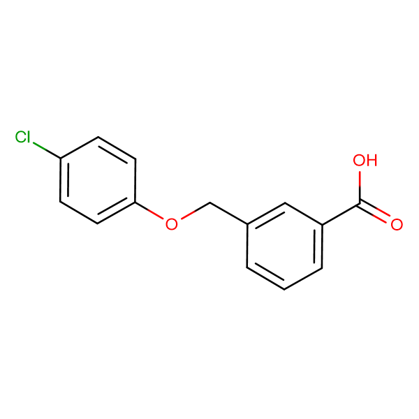 3-(4-Chlorophenoxymethyl)benzoic acid