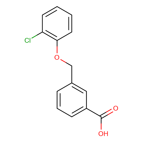 3-(2-Chlorophenoxymethyl)benzoic acid