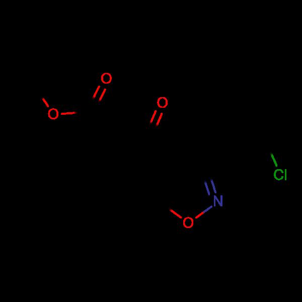 3-[3-(2-Chlorophenyl)-5-methylisoxazol-4-yl]-3-oxopropionic acid methyl ester