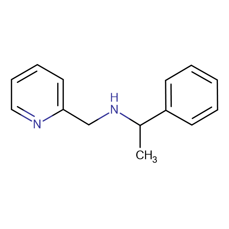 (1-Phenylethyl)pyridin-2-ylmethyl-amine