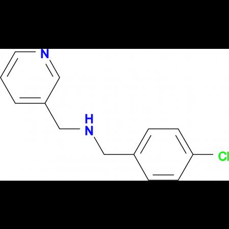 (4-Chlorobenzyl)pyridin-3-ylmethylamine