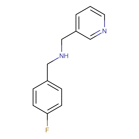 (4-Fluorobenzyl)pyridin-3-ylmethylamine