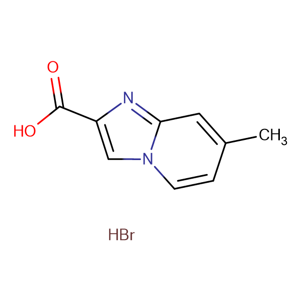 7-Methyl-imidazo[1,2-a]pyridine-2-carboxylic acidhydrobromide