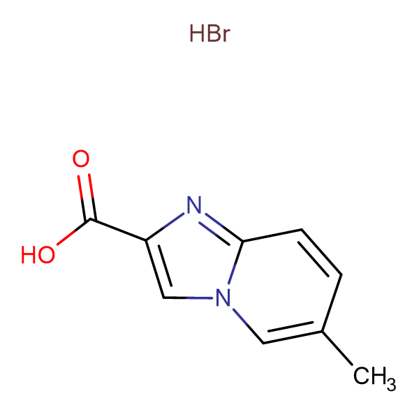 6-Methyl-imidazo[1,2-a]pyridine-2-carboxylic acidhydrobromide