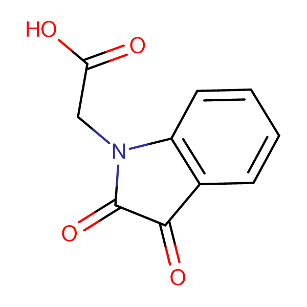(2,3-Dioxo-2,3-dihydro-indol-1-yl)-acetic acid
