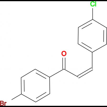 (Z)-1-(4-Bromophenyl)-3-(4-chlorophenyl)propenone