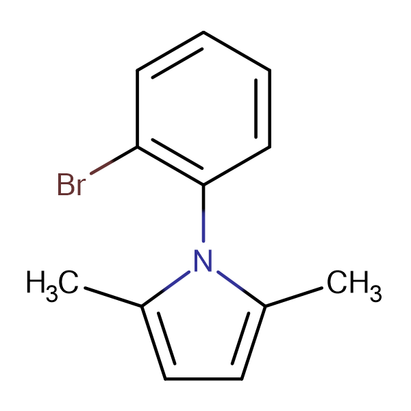 1-(2-Bromo-phenyl)-2,5-dimethyl-1H-pyrrole