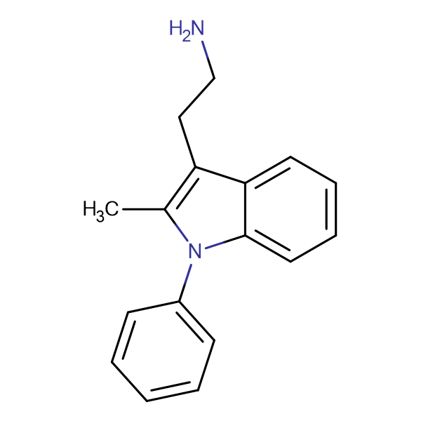 2-(2-Methyl-1-phenyl-1H-indol-3-yl)ethylamine