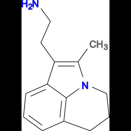 2-(2-Methyl-5,6-dihydro-4H-pyrrolo[3,2,1-ij]quinolin-1-yl)ethylamine