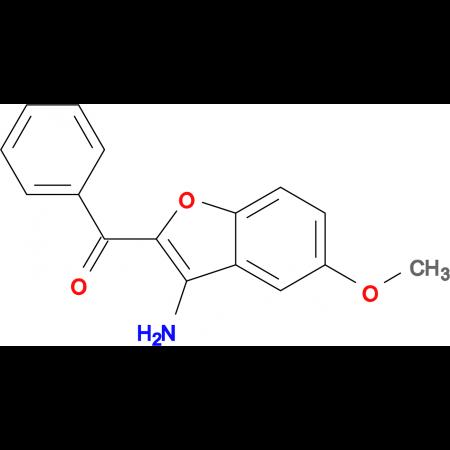 (3-Amino-5-methoxybenzofuran-2-yl)-phenyl-methanone