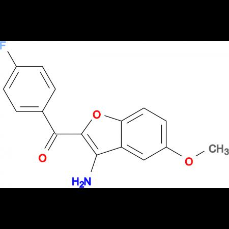 (3-Amino-5-methoxybenzofuran-2-yl)-(4-fluoro-phenyl)-methanone