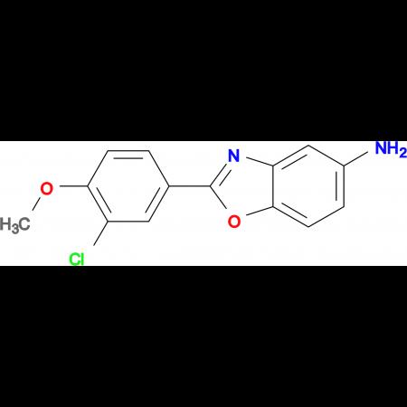 2-(3-Chloro-4-methoxyphenyl)benzooxazol-5-ylamine