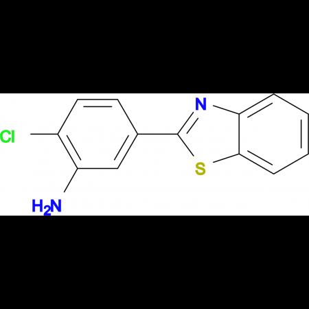 5-Benzothiazol-2-yl-2-chloro-phenylamine