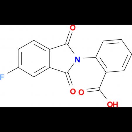 2-(5-Fluoro-1,3-dioxo-1,3-dihydro-isoindol-2-yl)-benzoic acid