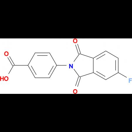 4-(5-Fluoro-1,3-dioxo-1,3-dihydro-isoindol-2-yl)-benzoic acid