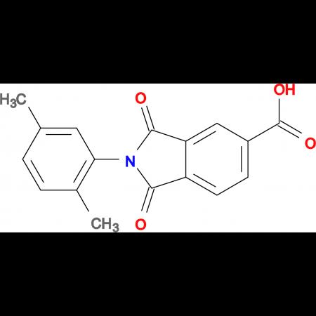 2-(2,5-Dimethylphenyl)-1,3-dioxo-2,3-dihydro-1H-isoindole-5-carboxylic acid