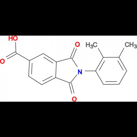 2-(2,3-Dimethylphenyl)-1,3-dioxo-2,3-dihydro-1H-isoindole-5-carboxylic acid