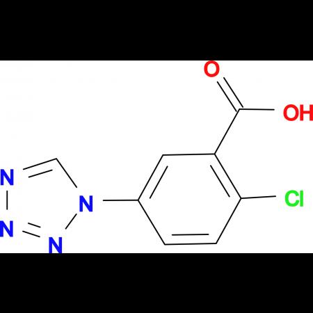 2-Chloro-5-tetrazol-1-yl-benzoic acid
