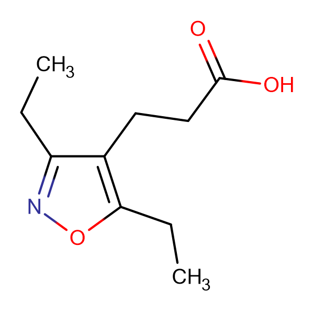 3-(3,5-Diethyl-isoxazol-4-yl)-propionic acid