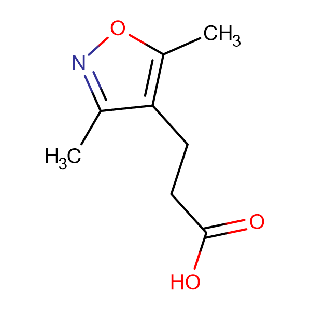 3-(3,5-Dimethyl-isoxazol-4-yl)-propionic acid