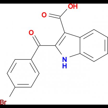 2-(4-Bromo-benzoyl)-1H-indole-3-carboxylic acid